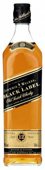 Johnny Walker Black   40%