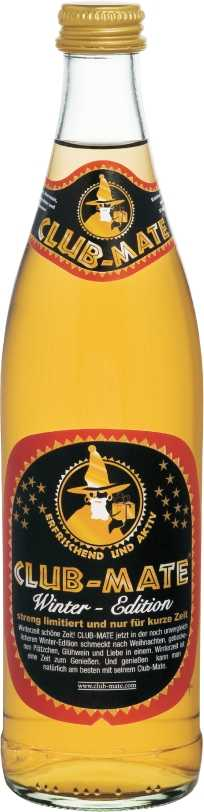 Club-Mate Winter Edition **