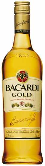Bacardi Gold 40vol%