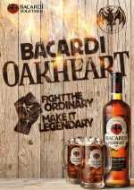 Bacardi Oakhart Smooth & Spiced 35vol%