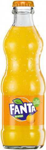 Fanta Orange Glasflasche