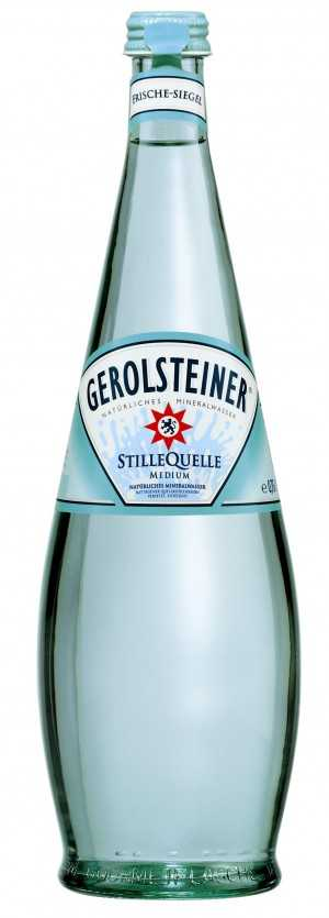 Gerolsteiner 0,50 medium Gourmet **